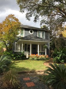 Photo for Montrose Renovated Classic 30s Home with 5bd/3ba, GiantTVs, Huge Deck and Pond