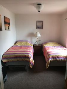 Bedroom 1 with 2 single beds
