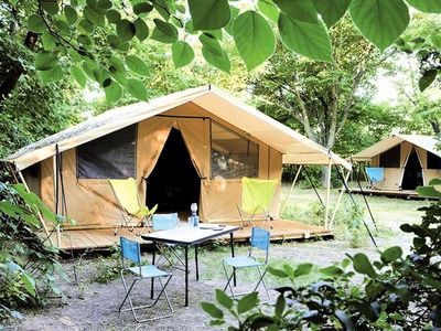 Photo for Camping Huttopia Saumur ***** - Classic Tent 3 Rooms 4 People