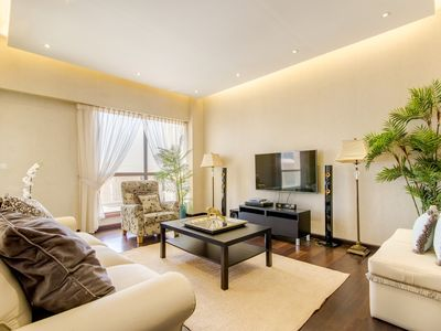 Photo for Amazing 3BR with sea view on Sadaf