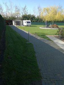 Photo for We rent a caravan and garden house with bathroom directly on Irrland.