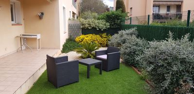 Photo for 2 rooms with nice garden