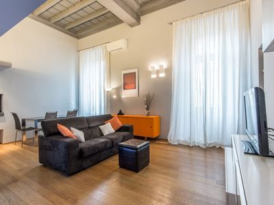 Photo for Apartment 20 m from the center of Rome with Internet, Air conditioning, Washing machine (502673)