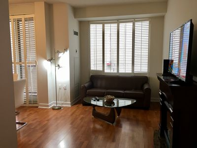 Photo for LARGE 2 Bedroom 2 Bath with Balcony in YORKVILLE at Yonge & Bloor with PARKING