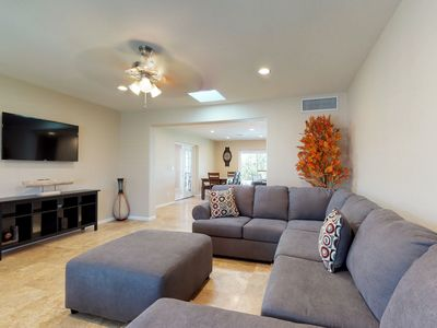 Photo for Scottsdale home close to shopping w/ a private pool & on-site putting green