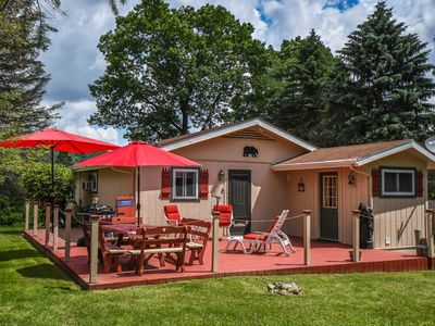 Photo for Cozy cottage with great outdoor space within 5 minutes from activities!