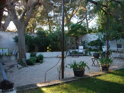 Photo for At 3 minutes away from the quiet beach in a property with swimming pool and jacuzzi.
