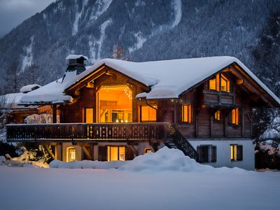 Photo for Luxury Chalet with Stunning Views of Mont Blanc!
