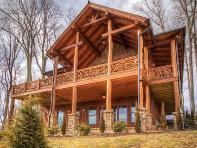 Photo for 2 Master Suites plus Custom Bunk Room-3 1/2 Baths - Sleeps 9 -Eagles Nest-Gated