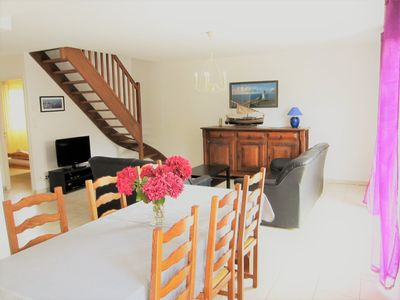Photo for Comfortable house for 6, about 100m  from the beach, free WIFI