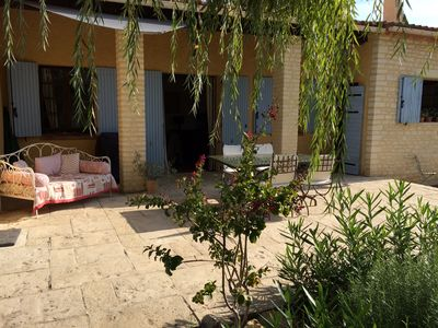 Photo for Beautiful House for rent in Provence, in the countryside of Lubéron.