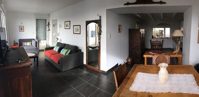 Photo for House on the beach, direct access to the sea, the dike and the port.