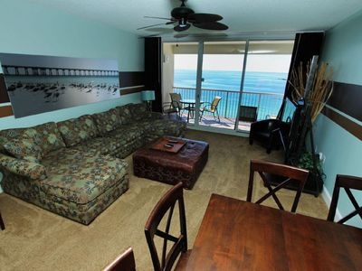 Photo for Enjoy this beach front oasis with amazing views.