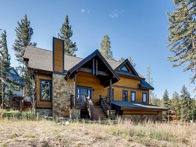 Photo for New Listing! 5Br Private Home in Keystone Ranch- Hot Tub & Kids Ski Free