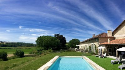 Photo for Private pool, sleeps up to 10 guests, stunning location in french countryside