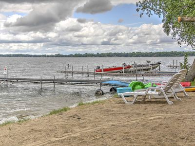 Photo for 4BR Cabin Vacation Rental in Atwater, Minnesota