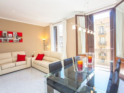 Photo for Beautiful apartment for 5 guests with WIFI, A/C and TV