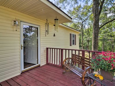 Photo for NEW! Secluded 'Ridgemont Cottage' in Hot Springs!