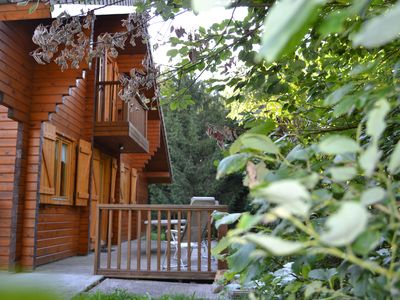 Photo for Vosges - VENTRON - Wooden Chalet - 2-8 people - Comfortable