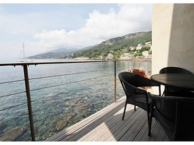 Photo for A balcony overlooking the sea