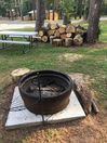 Firepit with Swing Away Grill
