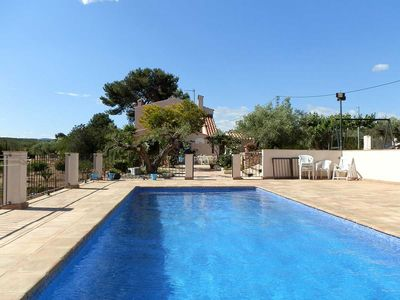 Photo for CASA VINYA DEL VENT, Ideal house for your holidays near the sea, free wifi, air conditioning, private pool, pets allowed, dog's beach.