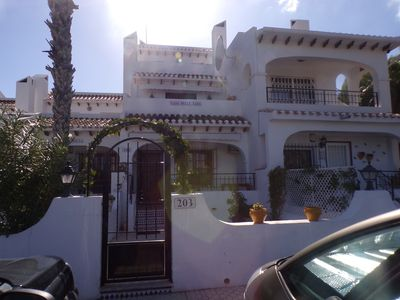 Photo for 3 bed 3 bath Townhouse overlooking villamartin golf course
