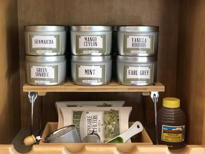 We're so excited to now have a selection of organic loose teas for our guests!