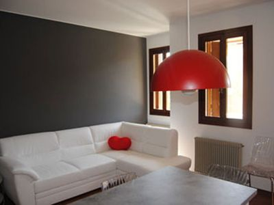 Photo for Vittorio Veneto center, apartment with garage, 4 persons