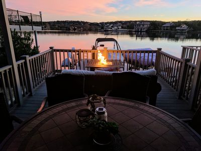 Photo for Luxury East Facing Open Water w/ Boat Slip, Pool, Deck, Near Yacht Club & Resort