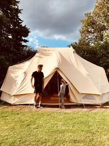 Photo for Glamping by the sea with swimmingpool in Dronningmølle