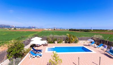 Photo for Son Claret Villa with swimming pool and stunning views 091