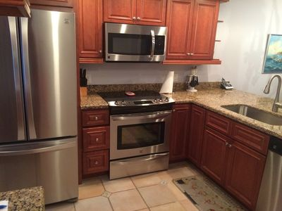Renovated upscale kitchen with all of the comforts of home