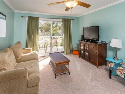 Photo for Condominium in St. Simons Island Village Area. Pool, Tennis, Fitness Center and More!