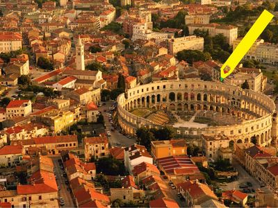 Photo for AWESOME APARTMENT across ROMAN AMPHITHEATER with GREEN SUMMER TERRACE&FreeParkin