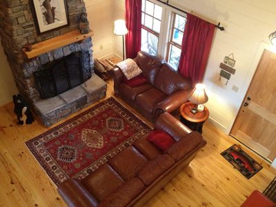 Photo for Cozy Mountain Getaway, Family & Dog Friendly, Lake, Golf, Wifi