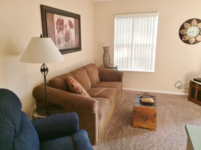 Photo for Open August Dates, 1 Bdrm,1 Bth, Walk in, Free WiFi, Indoor Pool,Mini Golf, etc