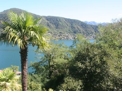 Photo for Apartment with magnificent views of Lake Lugano