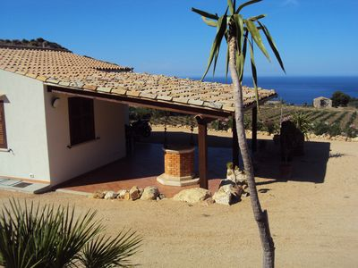 Photo for Villa Elena 2 Km from the Natural Reserve of Zingaro