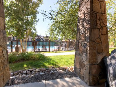 Photo for Poolside Condo, Private Patio, Concierge Services, Great for a Summer Getaway