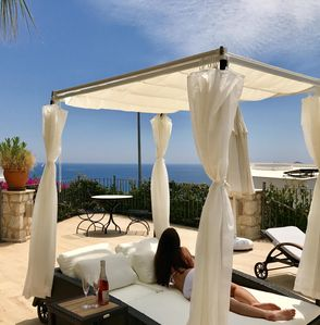 Photo for Beautiful Private Luxury Villa, Heated Pool, Large Terraces & Amazing Sea Views