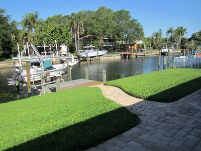 Photo for Canal Front House. Close To Downtown St. Petersburg.