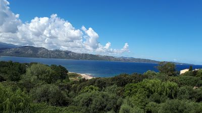 Photo for 7 sleeps apartment on the Gulf of Saint-Florent