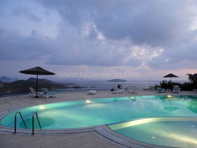 Photo for Karya apartment Gumusluk Bodrum with seaview and communal site pool.