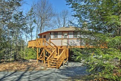 Immerse yourself in nature at this lovely Blakeslee vacation rental home!
