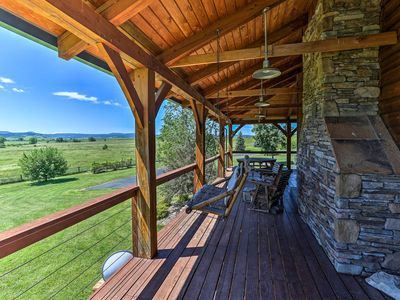 Photo for Spacious Spearfish Home on 40 Acres w/Private Lake
