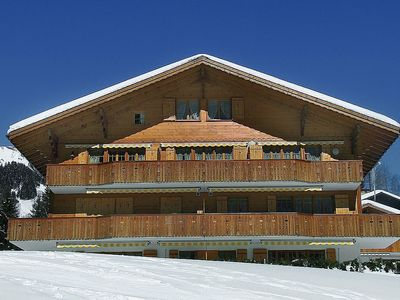 Photo for Apartment in the center of Grindelwald with Lift, Parking, Internet, Washing machine (44411)