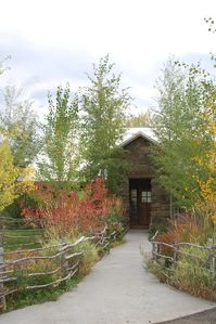 Photo for 5 Star 5000 Sqr Foot Sourdough Canyon Luxurious Lodge with Trout Ponds on Creek