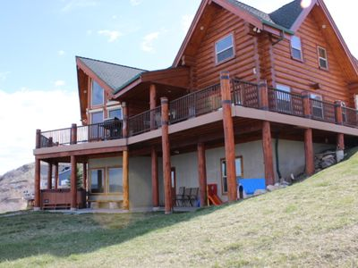 Photo for Amazing Views! Arcade, Hot Tub, Family Fun Cabin!