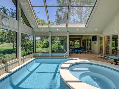 Photo for New to Market! Private Pool, Golf Views, Free Bikes, Near Beach.